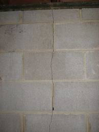 Vertical Foundation Cracks